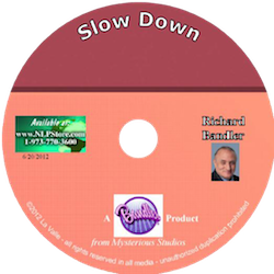 Slow Down - Dr. Richard Bandler